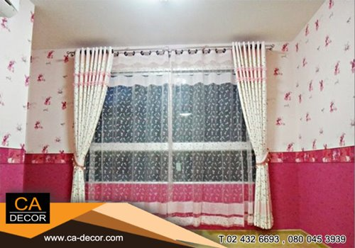 Eyelet Curtains 1