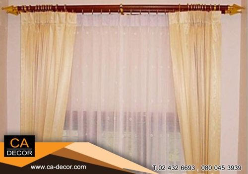 Pleat Curtains Opaque airy