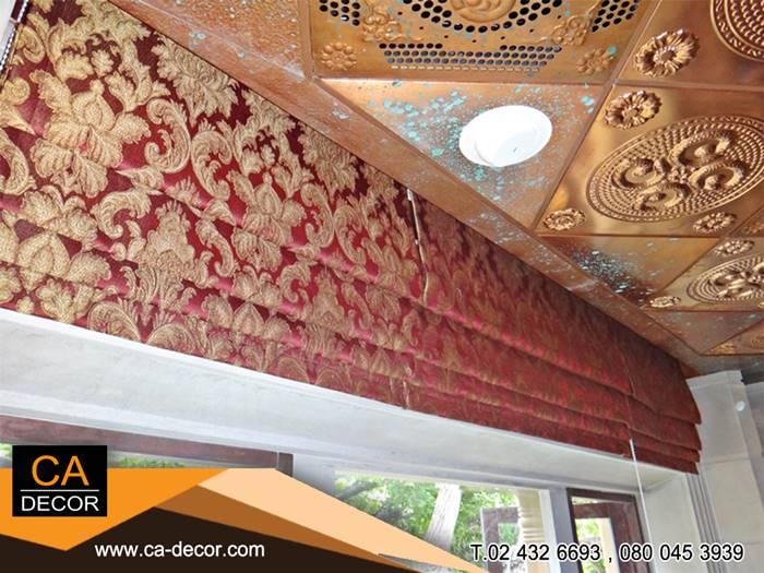 Roman blinds,Louis pattern-3