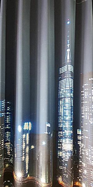 ม่านลอนภาพเมืองนิวยอร์ด