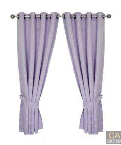 ผ้าม่านหน้าต่าง สำเร็จรูปสีม่วง-นภาพร1