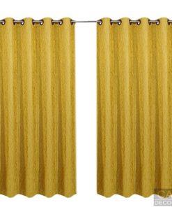 ผ้าม่าน หน้าต่างสำเร็จรูป สีเหลือง