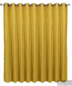 ผ้าม่าน สำเร็จรูป สีเหลือง-4