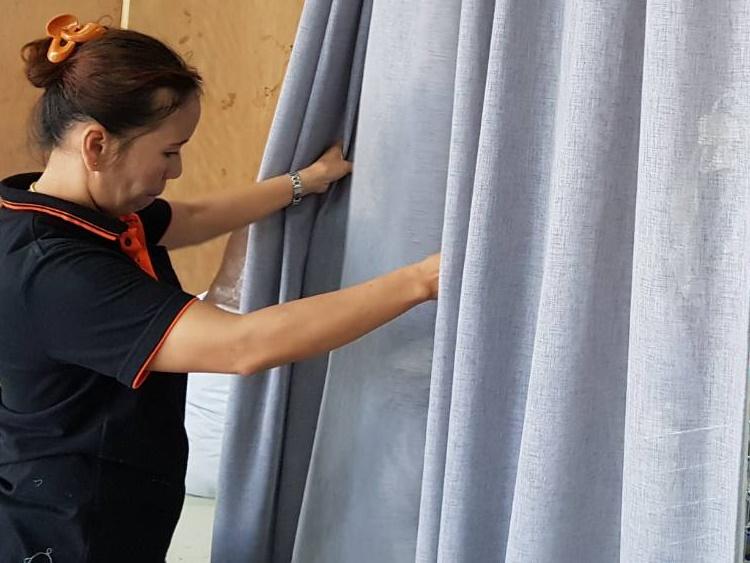 QC curtain