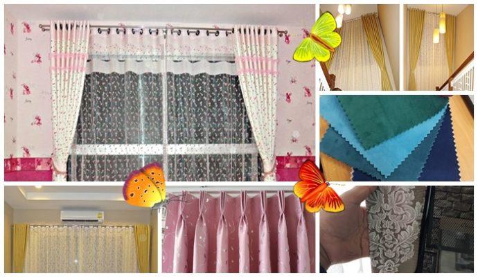 เคล็ดลับติดผ้าม่านอย่างไรให้บ้านสวย