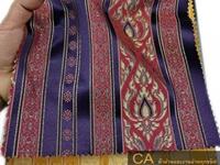 ผ้าม่านทอลายไทย